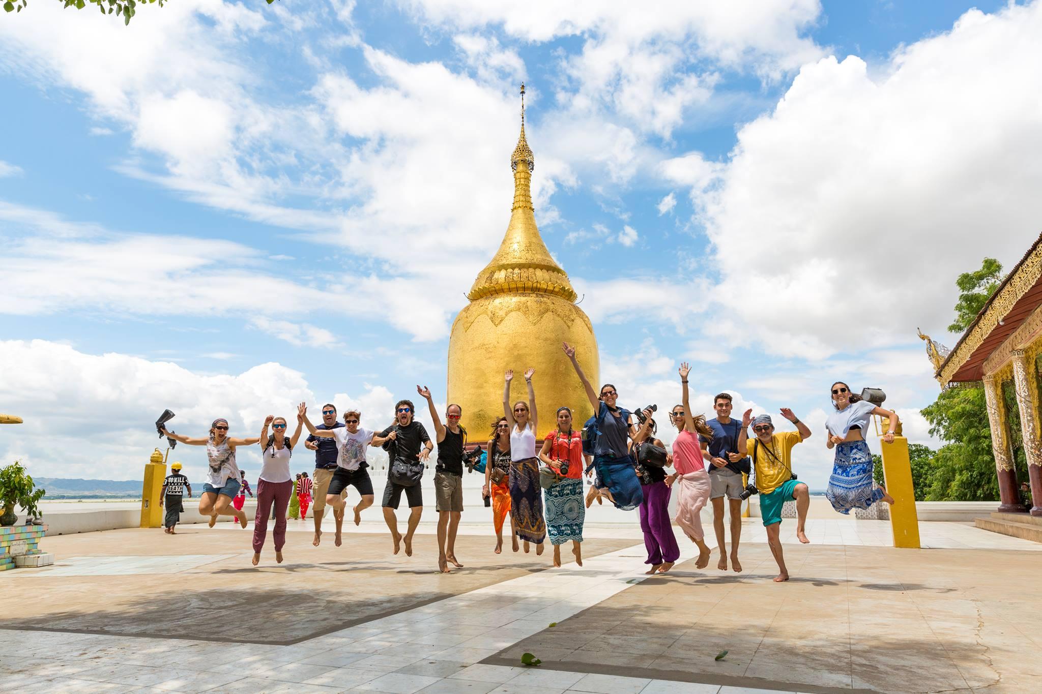 Grupo 2017 Viaje Birmnia