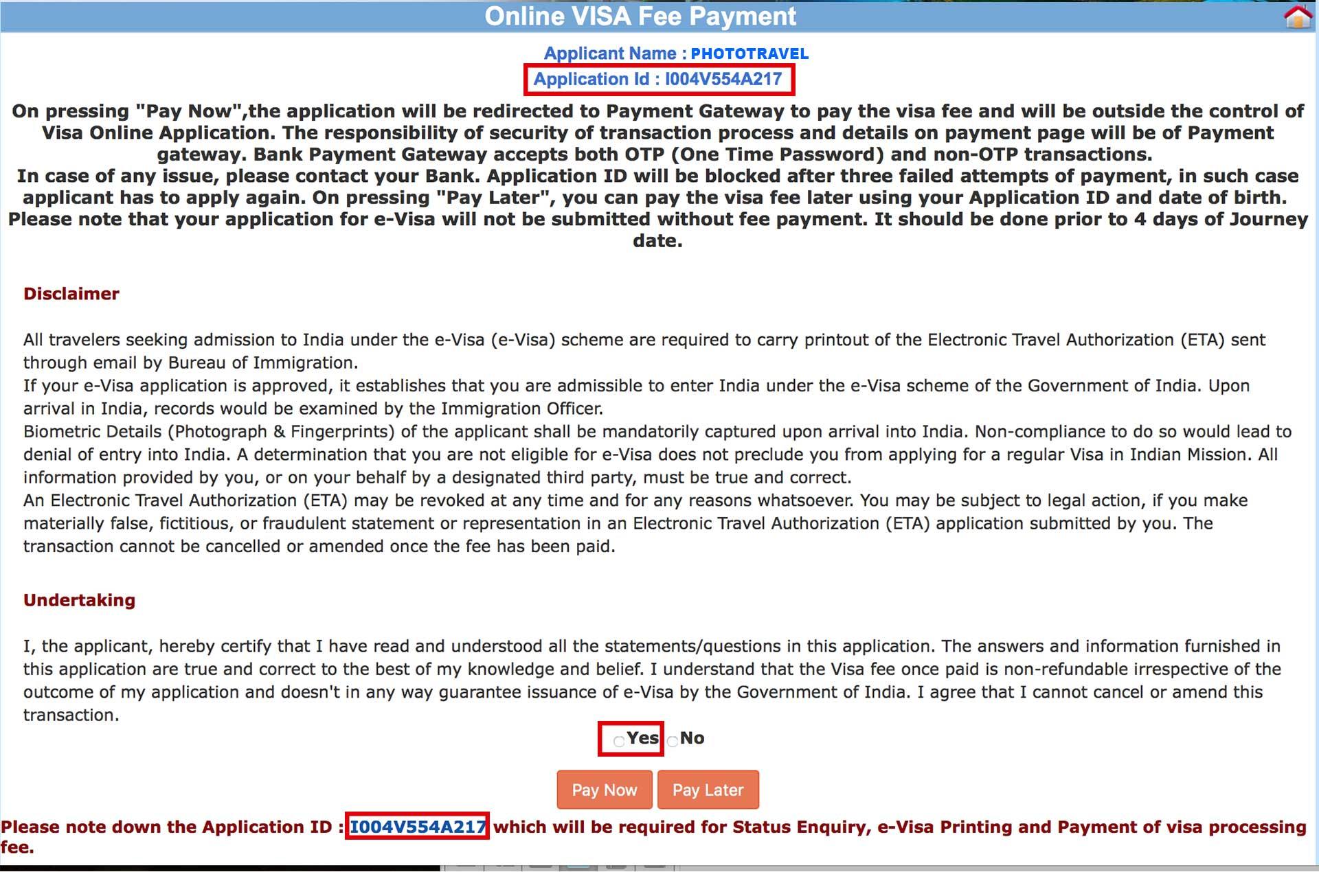 Visado a India online (e-visa) de forma fácil, paso a paso, PhotoTravel