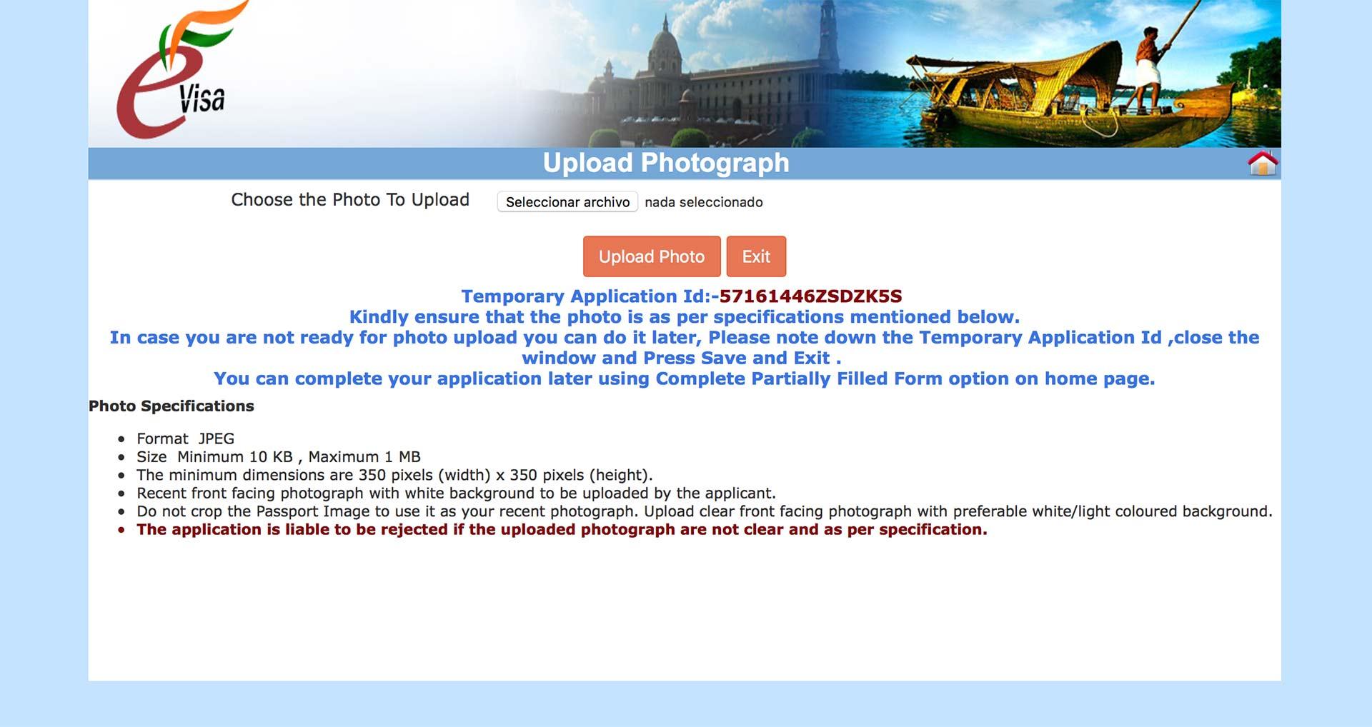 visado-online-india